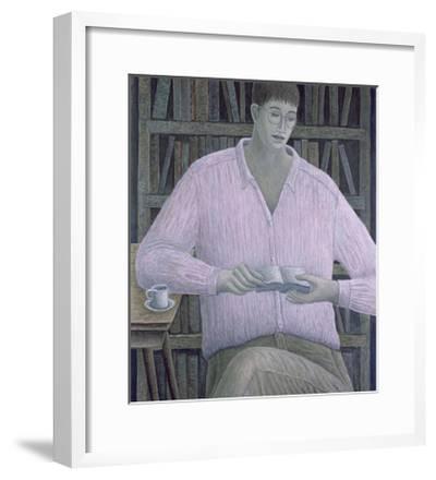 Man Reading, 1998-Ruth Addinall-Framed Giclee Print