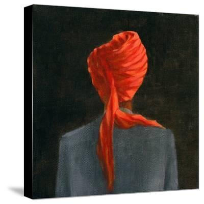 Red Turban, 2004-Lincoln Seligman-Stretched Canvas Print