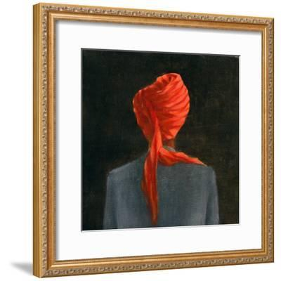 Red Turban, 2004-Lincoln Seligman-Framed Giclee Print
