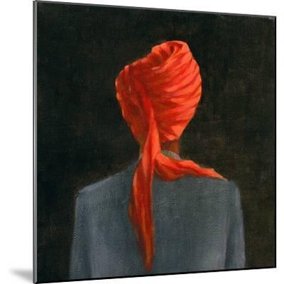 Red Turban, 2004-Lincoln Seligman-Mounted Giclee Print