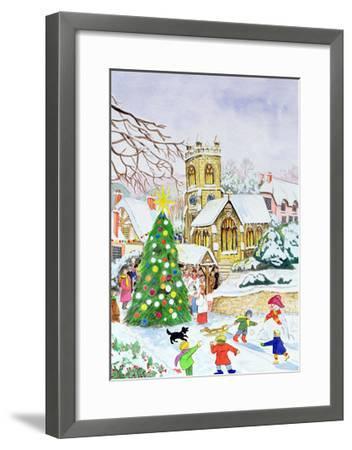 Village Festivities, 2005-Tony Todd-Framed Giclee Print