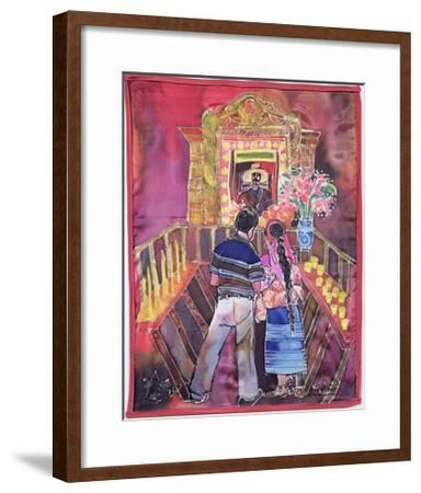 Mayan Couple, 2005-Hilary Simon-Framed Giclee Print
