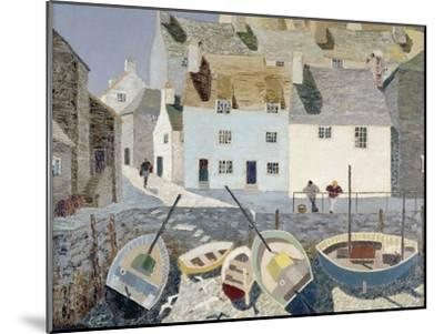Polperro-Eric Hains-Mounted Premium Giclee Print