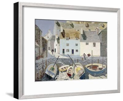 Polperro-Eric Hains-Framed Giclee Print