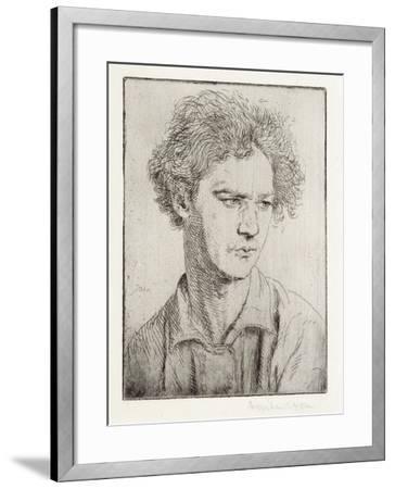 Jacob Epstein-Augustus Edwin John-Framed Giclee Print