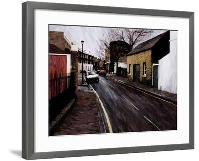 Circus Street (Next to the Cheeseboard), 2000-Ellen Golla-Framed Giclee Print