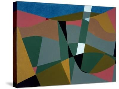 Shafted Landscape, 2001-George Dannatt-Stretched Canvas Print