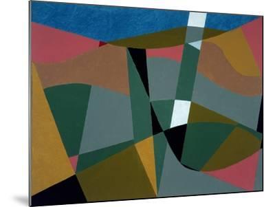 Shafted Landscape, 2001-George Dannatt-Mounted Giclee Print
