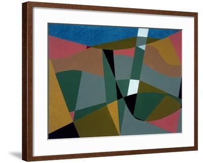 Shafted Landscape, 2001-George Dannatt-Framed Giclee Print