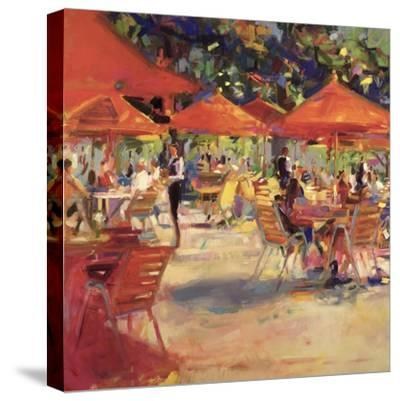 Le Cafe Du Jardin-Peter Graham-Stretched Canvas Print