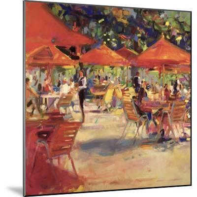 Le Cafe Du Jardin-Peter Graham-Mounted Giclee Print