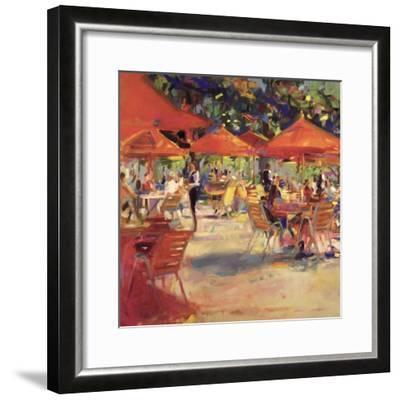 Le Cafe Du Jardin-Peter Graham-Framed Giclee Print