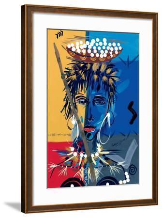African Beauty 1, 2004-Oglafa Ebitari Perrin-Framed Giclee Print