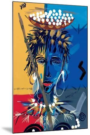 African Beauty 1, 2004-Oglafa Ebitari Perrin-Mounted Giclee Print