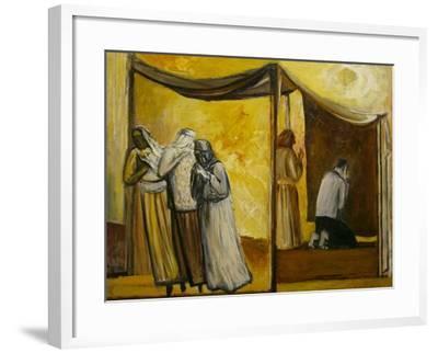 Abraham Praying-Richard Mcbee-Framed Giclee Print