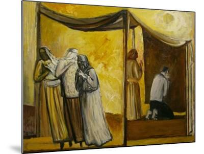 Abraham Praying-Richard Mcbee-Mounted Giclee Print