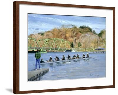 Away from the Jetty-Timothy Easton-Framed Giclee Print
