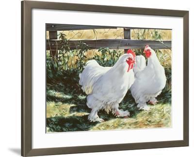 Conversation Piece, 1991-Sandra Lawrence-Framed Giclee Print