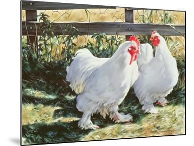 Conversation Piece, 1991-Sandra Lawrence-Mounted Giclee Print