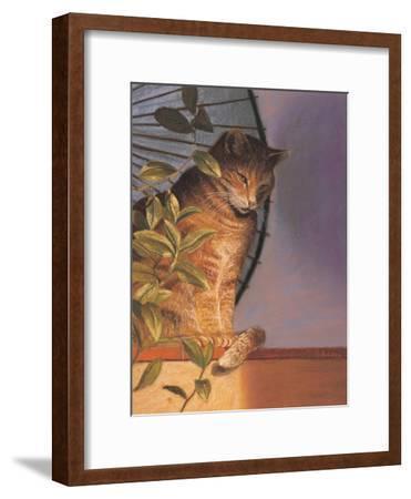 Contemplation-Simon Cook-Framed Giclee Print