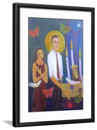 Evening Prayer, 2001-Roya Salari-Framed Giclee Print