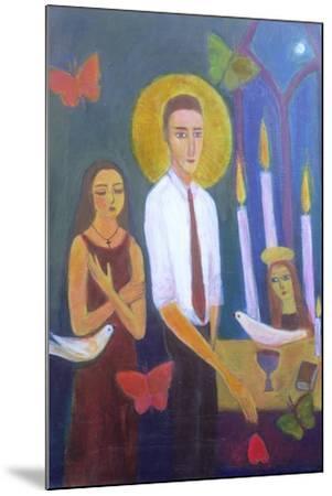 Evening Prayer, 2001-Roya Salari-Mounted Giclee Print
