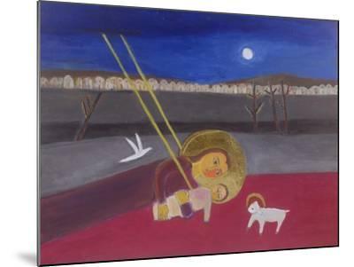 Mother and Child at Mazar, 2002-Roya Salari-Mounted Giclee Print