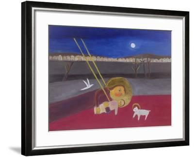 Mother and Child at Mazar, 2002-Roya Salari-Framed Giclee Print