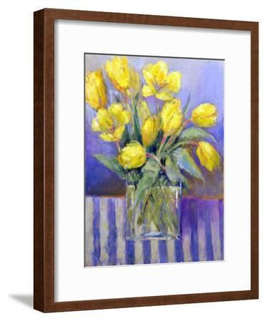 The Tank of Tulips-Karen Armitage-Framed Giclee Print