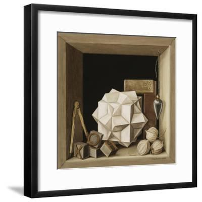 Geometry, 2004-Jenny Barron-Framed Giclee Print