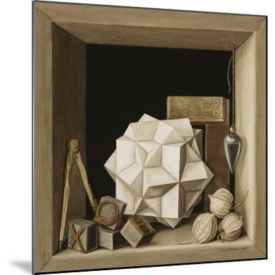 Geometry, 2004-Jenny Barron-Mounted Giclee Print