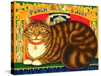 Muffin, the Covent Garden Cat, 1996-Frances Broomfield-Stretched Canvas Print