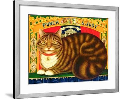 Muffin, the Covent Garden Cat, 1996-Frances Broomfield-Framed Giclee Print