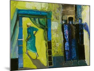 Sarah and the Three Angels, 1998-Richard Mcbee-Mounted Giclee Print