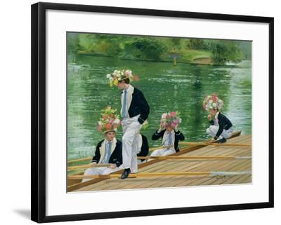 At Masters' for the Parade, 1999-Timothy Easton-Framed Giclee Print