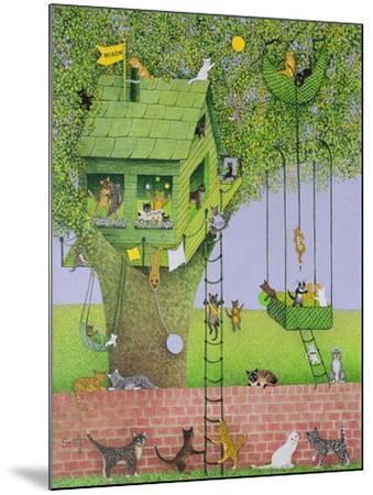 Cat Tree House-Pat Scott-Mounted Giclee Print