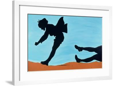 New Thrills for Peggy, 1998-Marjorie Weiss-Framed Giclee Print