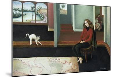 Map Study-Caroline Jennings-Mounted Giclee Print