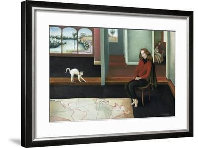 Map Study-Caroline Jennings-Framed Giclee Print