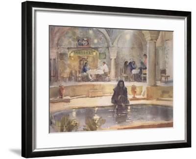 In the Teahouse, Kerman-Trevor Chamberlain-Framed Giclee Print