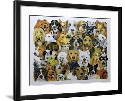 Dog Friends-Pat Scott-Framed Giclee Print