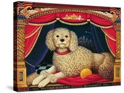 Old Mother Hubbard's Wonderful Dog, 1998-Frances Broomfield-Stretched Canvas Print