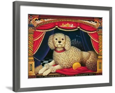 Old Mother Hubbard's Wonderful Dog, 1998-Frances Broomfield-Framed Giclee Print
