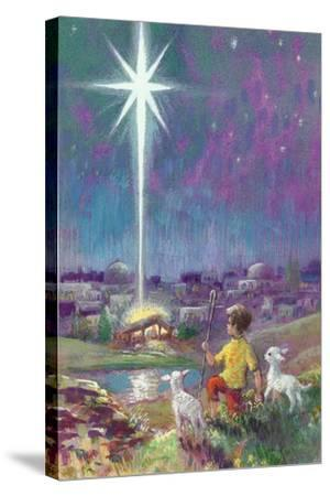 The Star of Bethlehem-Stanley Cooke-Stretched Canvas Print