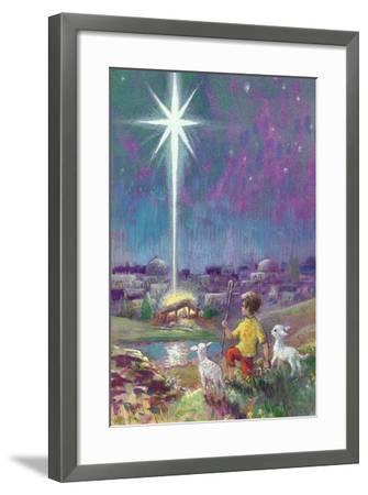 The Star of Bethlehem-Stanley Cooke-Framed Giclee Print