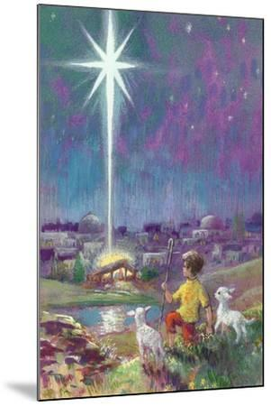 The Star of Bethlehem-Stanley Cooke-Mounted Giclee Print