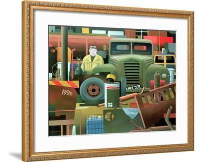 Scrap Merchant, 1983-Reg Cartwright-Framed Giclee Print