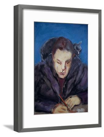 The Homework-Julie Held-Framed Giclee Print