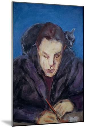 The Homework-Julie Held-Mounted Giclee Print
