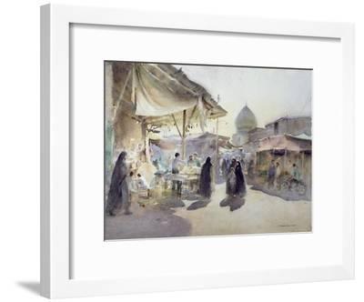 Light and Shade, Shiraz Bazaar, 1994-Trevor Chamberlain-Framed Giclee Print